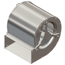 Dual inlet centrifugal